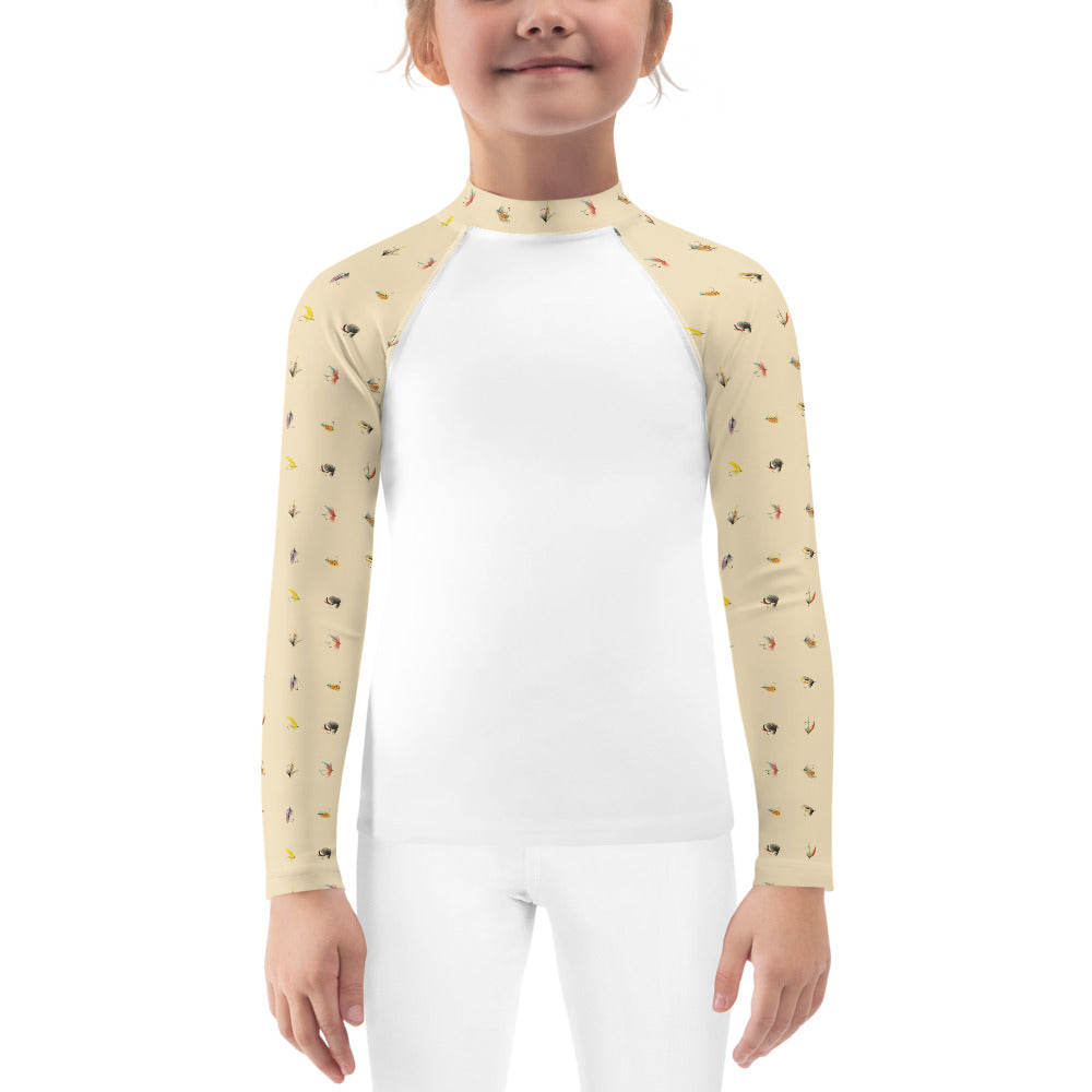 Girl's She's So Fly Fishing Shirt (2T-7)