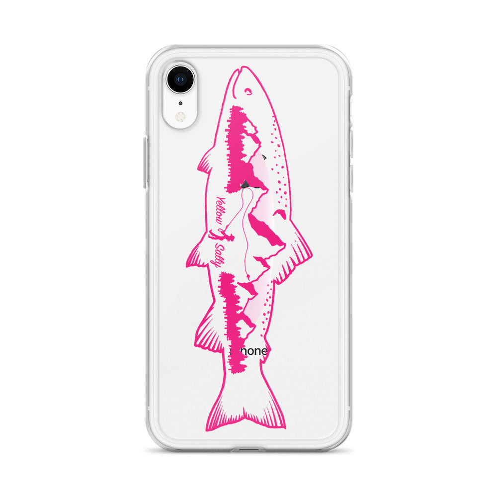 Pink Trout iPhone Case