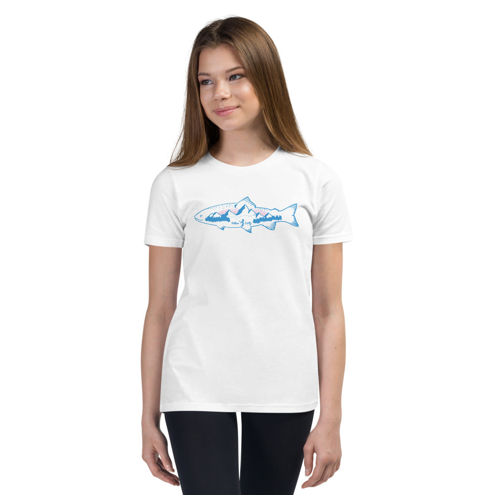 Girl Yellow Sally Trout T