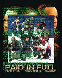 PAID IN FULL - POSTER