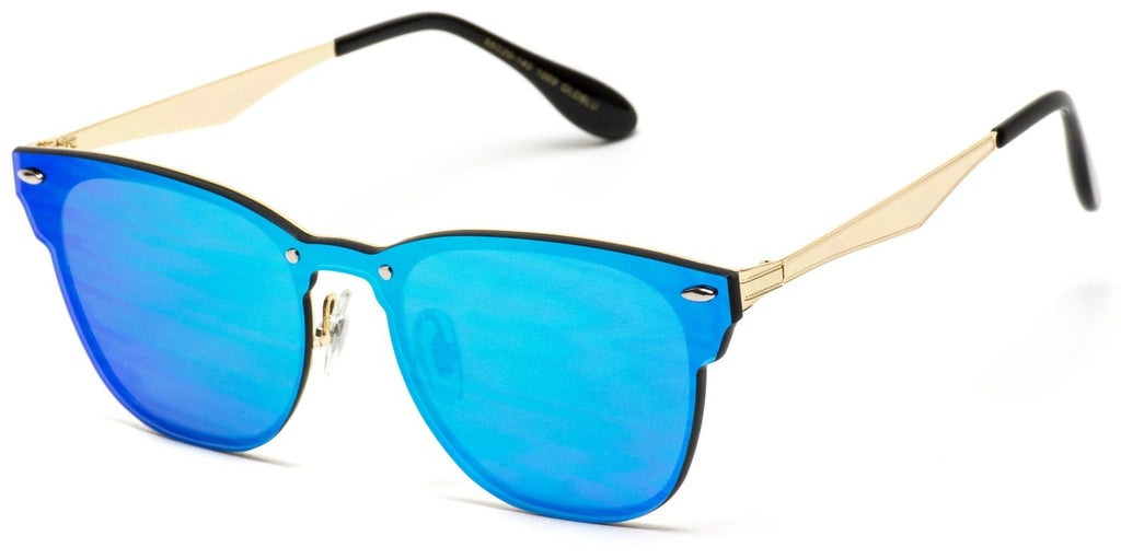 Browline Clubmaster Style Sunglasses