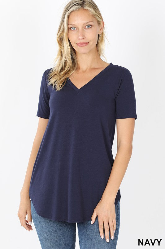 V-Neck Basic Top