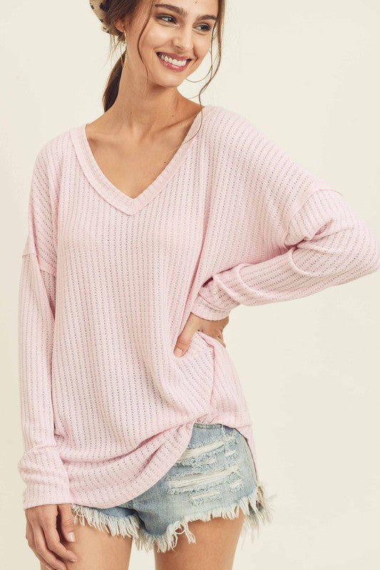 Tickled Pink Top