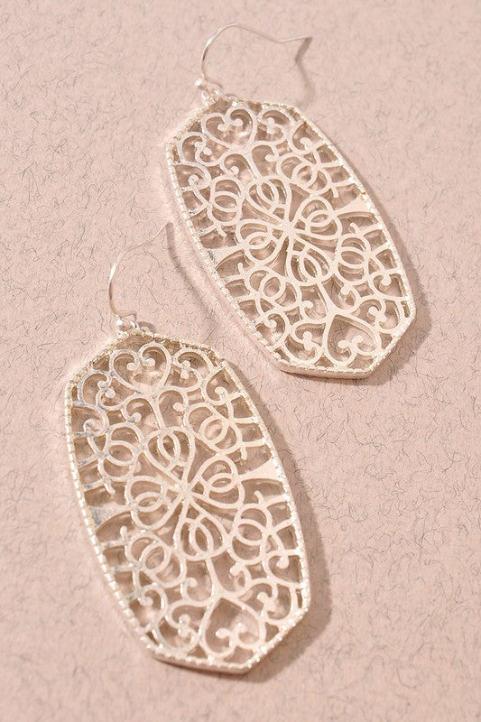 Dangle Filigree Earrings