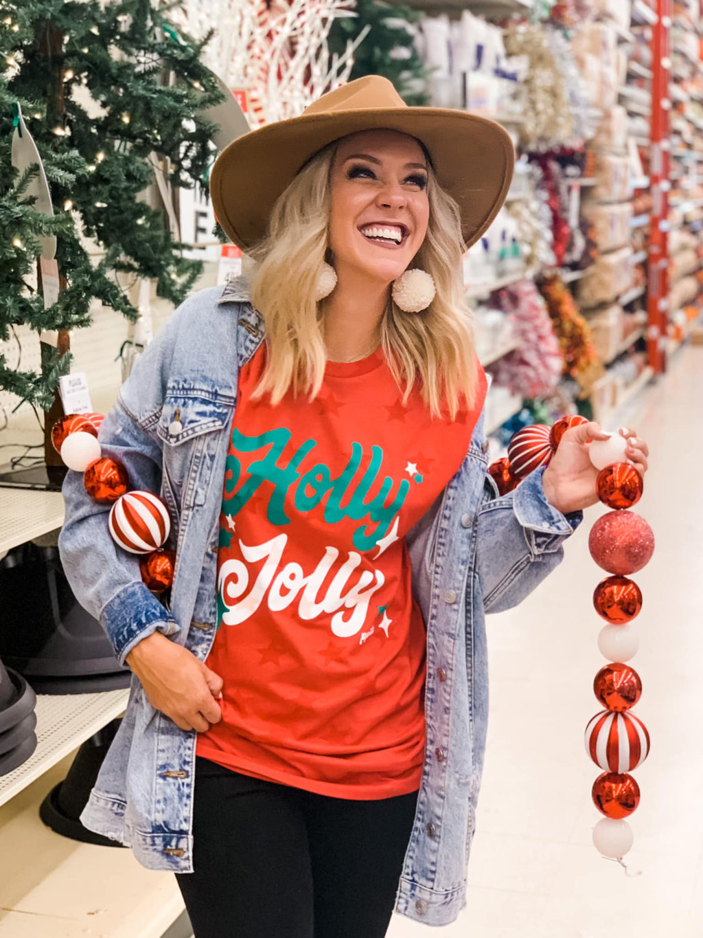 Holly Jolly Christmas Tee
