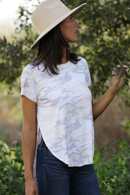 Desert Camo Tunic Top