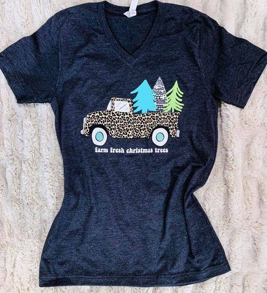 Farm Fresh Christmas Trees Tee