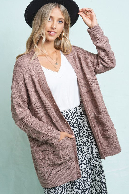 Jillian Pocket Cardigan