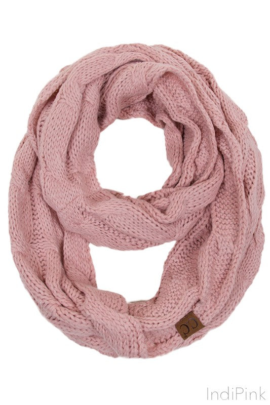 C.C. Knitted Scarf