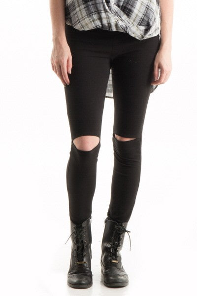 Cut-out Leggings