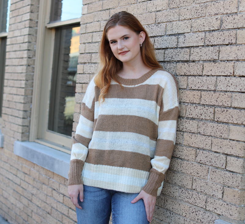 Holidaze Stripe Sweater