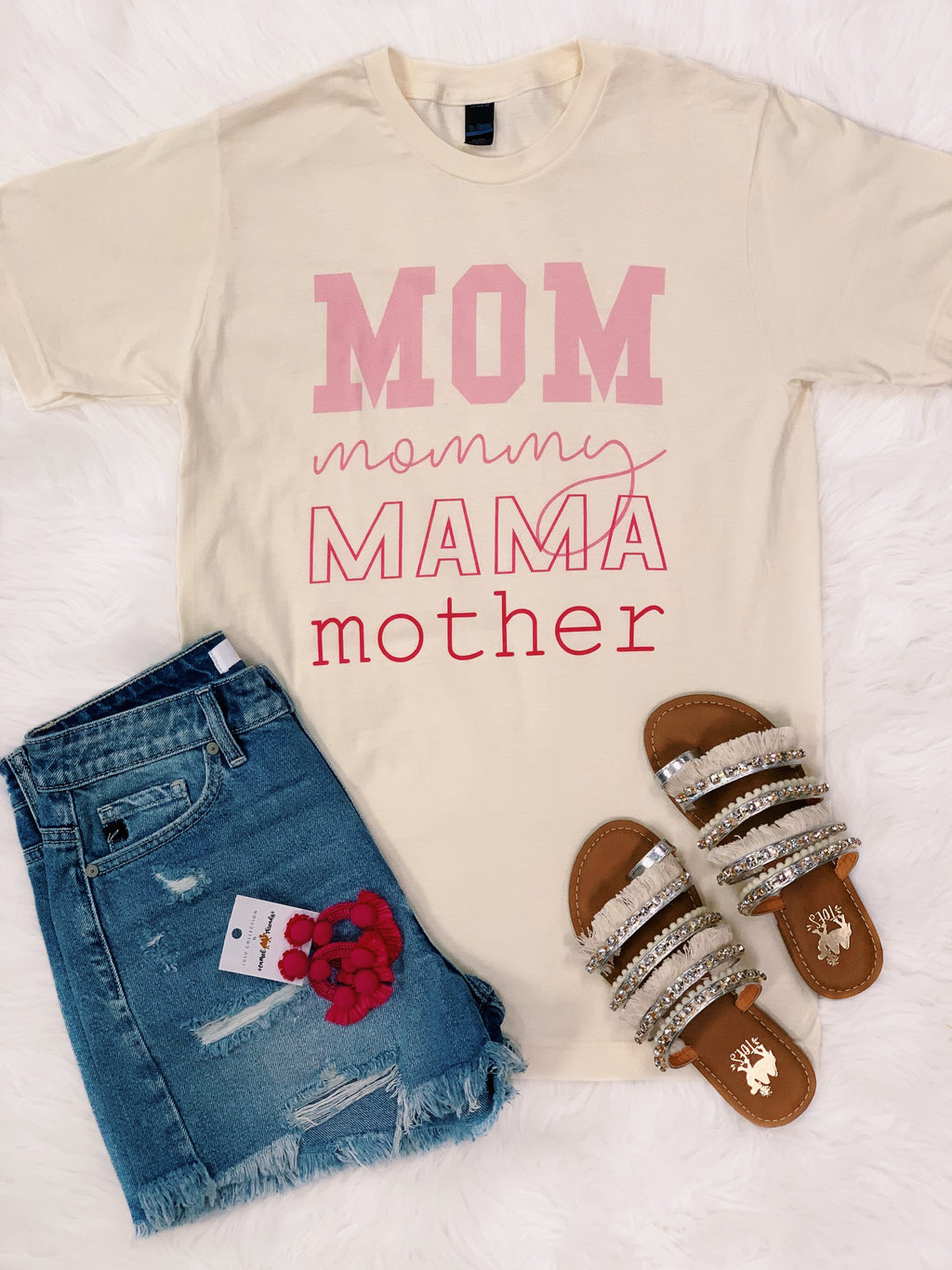Mom Mommy Tee