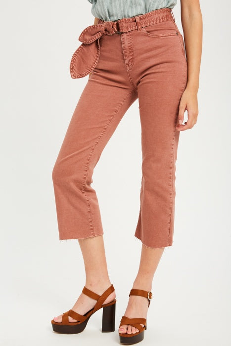 Clay Cropped Jean Pants