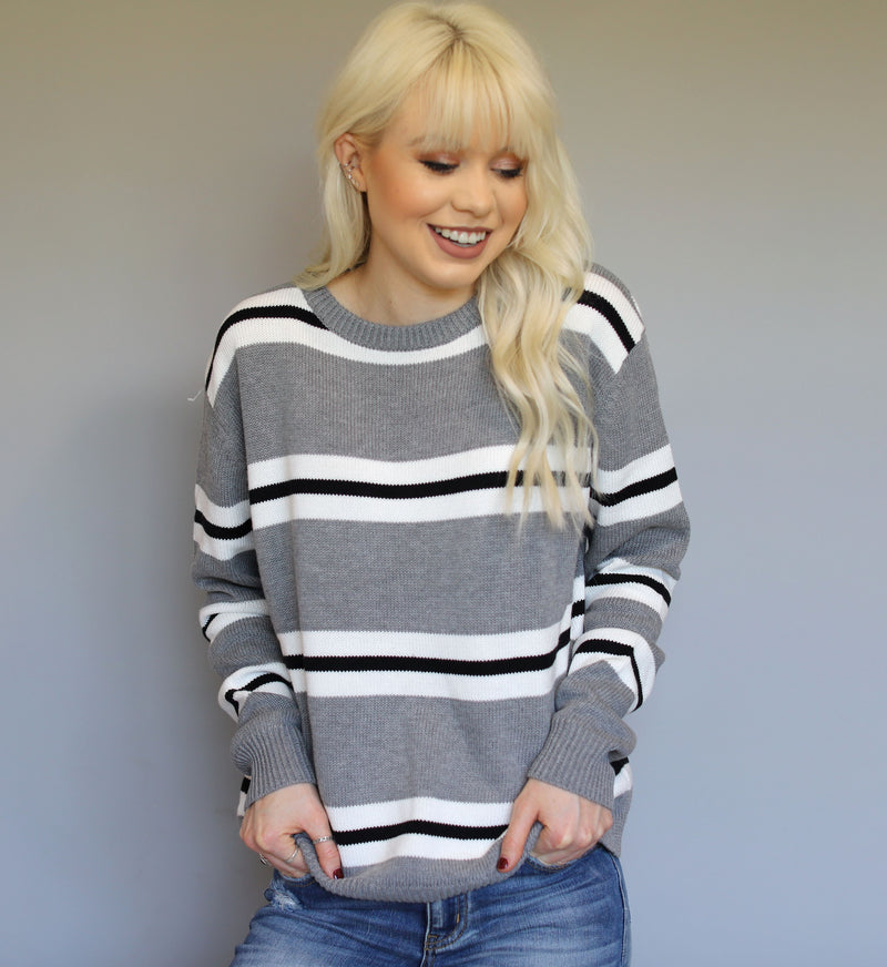 Simple Stripes Sweater