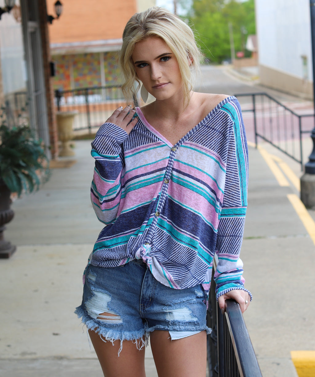 Sweet Stripes Top