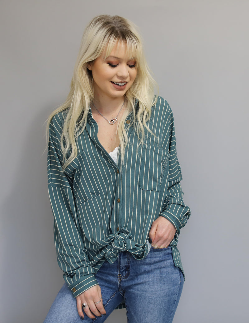 Maria Button Down Top