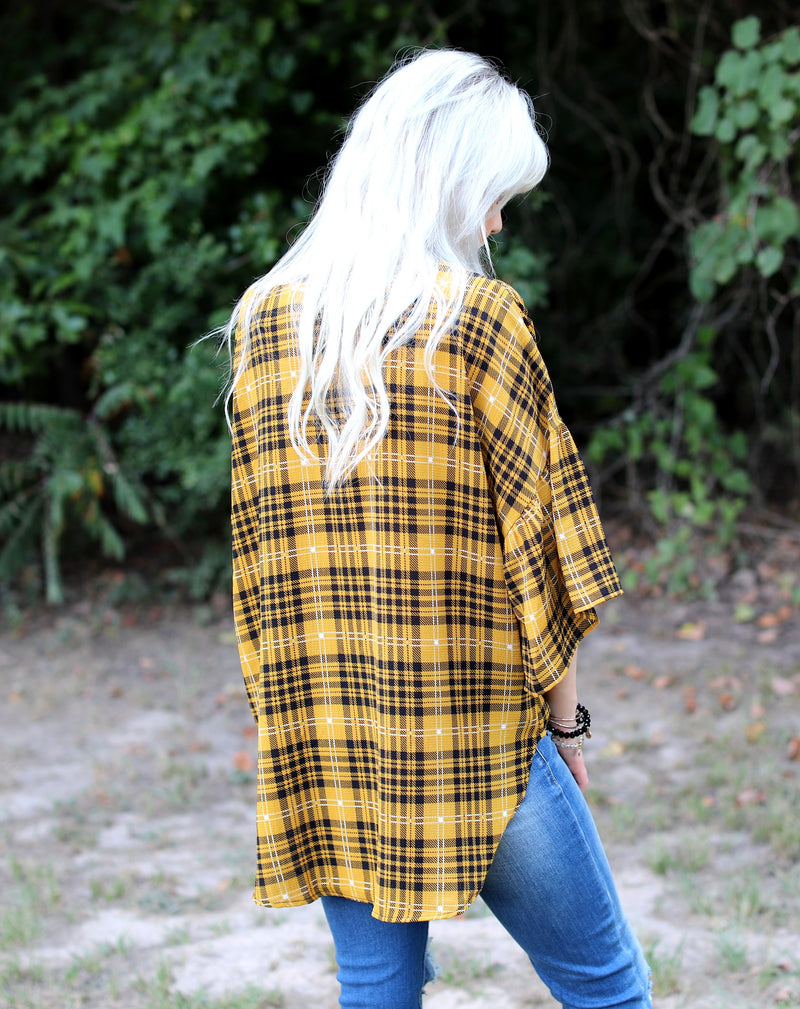 Pretty in Plaid Top