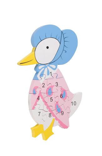 Jemima Puddleduck Number Puzzle - The Toy Cupboard, Tavistock, Devon