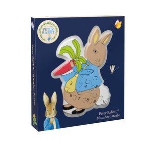 Peter Rabbit Number Puzzle - The Toy Cupboard, Tavistock, Devon