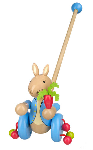 Peter Rabbit Push Along - The Toy Cupboard, Tavistock, Devon