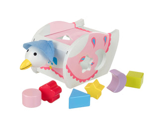 Jemima Puddleduck Shape Sorter - The Toy Cupboard, Tavistock, Devon