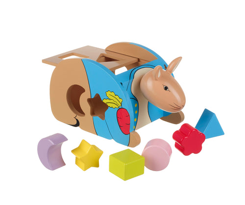 Peter Rabbit Shape Sorter - The Toy Cupboard, Tavistock, Devon