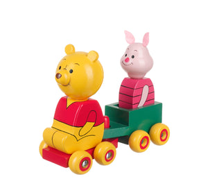 Winnie the Pooh & Piglet Cart - The Toy Cupboard, Tavistock, Devon