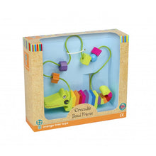 Load image into Gallery viewer, Crocodile Bead Frame - The Toy Cupboard, Tavistock, Devon