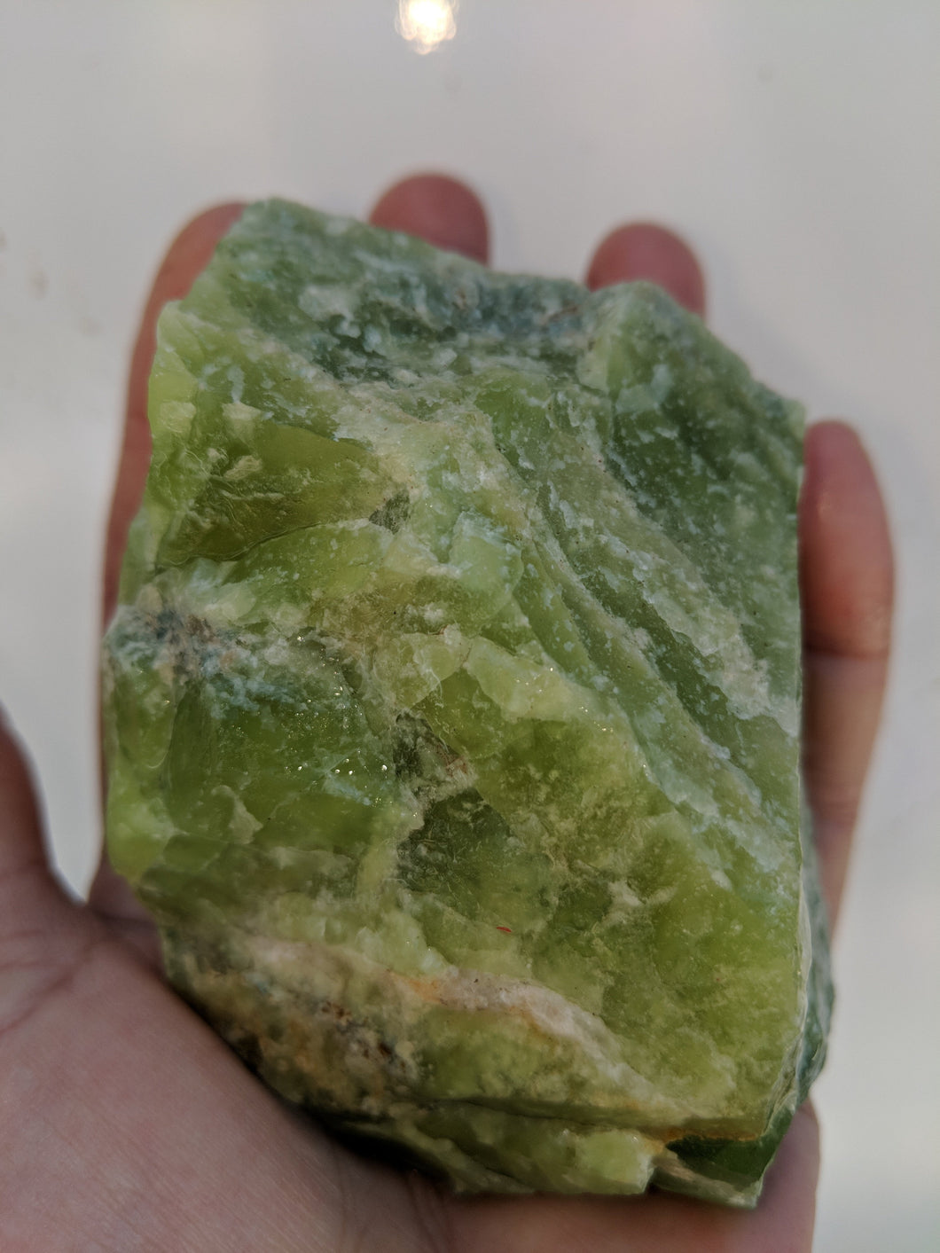 Pulga California Jade RARE Vesuvianite Raw Specimen Chunk Butte Camp Fire Eco Restoration