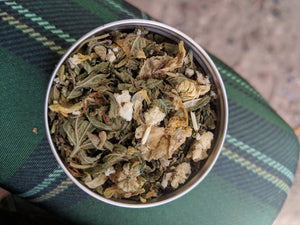 Pineapple Passion Mint Herbal Wealth Tea