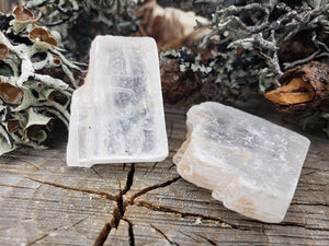Raw Selenite Chunk For Reiki Lightwork Crystal Healing