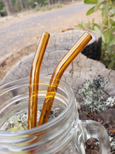 Load image into Gallery viewer, hand-made-borosilicate-glass-drinking-reusable-straw