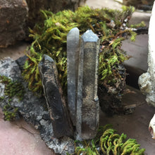 Load image into Gallery viewer, Smoky Charged Quartz Points For Reiki Chakra Healing Gemstone -Single Point
