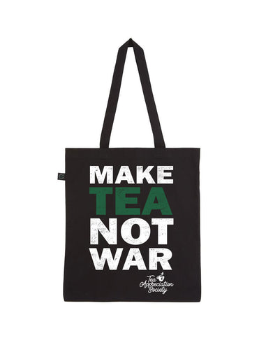 MAKE TEA NOT WAR TOTE