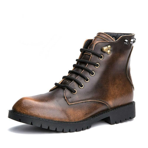 VL MENS VINTAGE BURNT OUT BOOTS - VansLovers.com