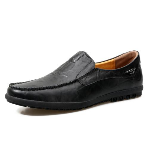 VL MENS GENUINE LEATHER LOAFERS - VansLovers.com