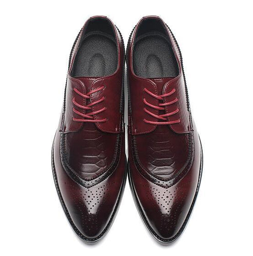 VL MENS VINTAGE POINTED TOE BULLOCK OXFORDS - VansLovers.com