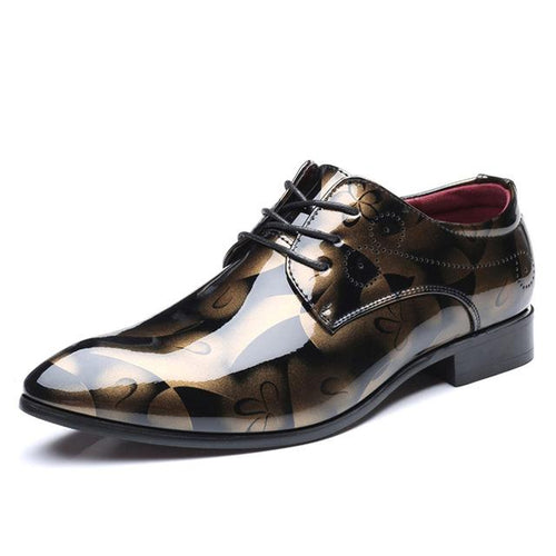 VL MENS VINTAGE PATTERN OXFORDS - VansLovers.com