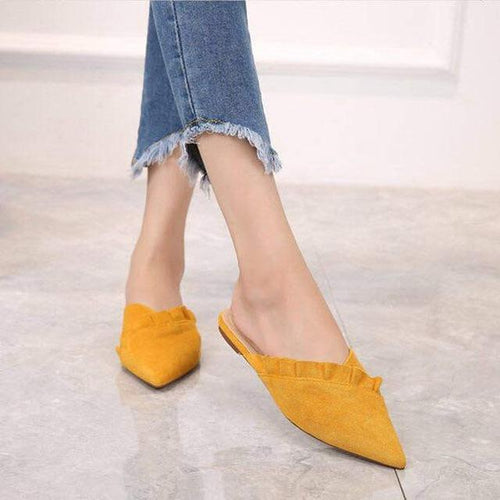 VL WOMENS SIMPLE BEAUTY FLAT MULES - VansLovers.com