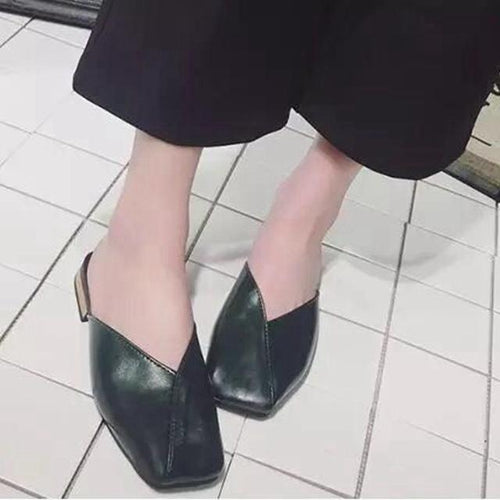 VL WOMENS CASUAL ENVELOPE MULES - VansLovers.com