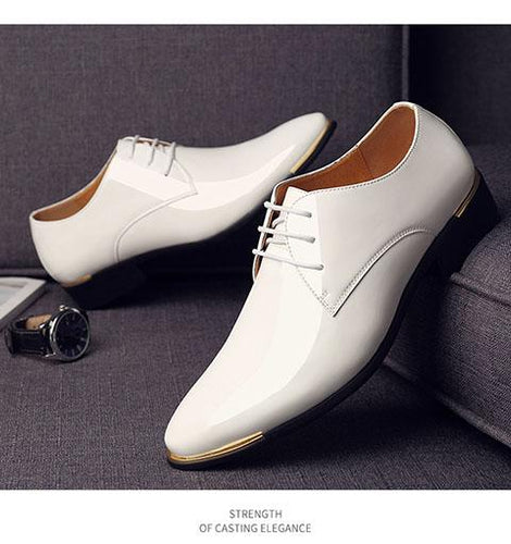 VL MENS PATENT LEATHER DRESS SHOES - VansLovers.com