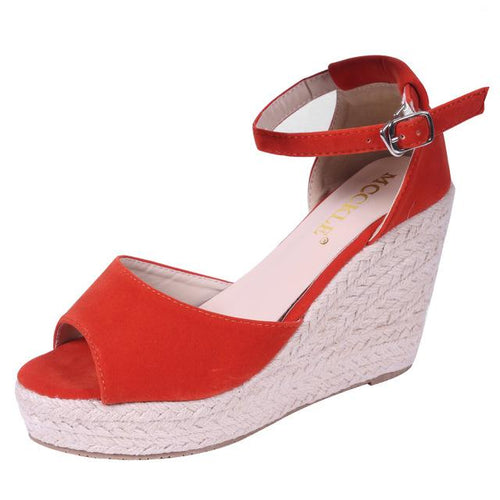 VL WOMENS SIMPLE AND CLASSY WEDGE - VansLovers.com