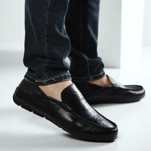 VL MENS SUPERSTAR SLIP ON CITY LOAFERS - VansLovers.com