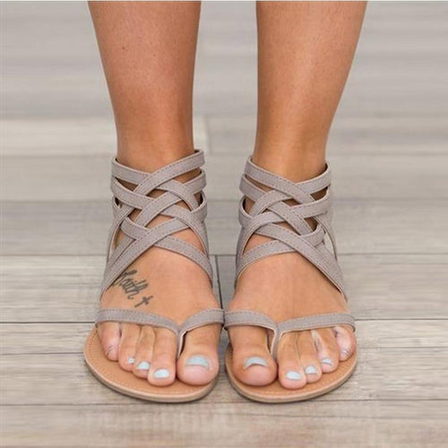 VL  WOMENS  ROMAN STYLE SANDALS - VansLovers.com