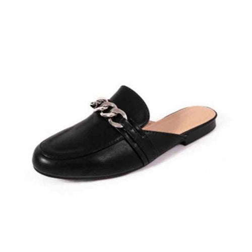 VL WOMENS CLASSIC AND CHIC CHAIN MULES - VansLovers.com