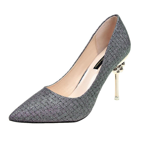 VL WOMENS BLING IT HERE METAL PUMPS - VansLovers.com