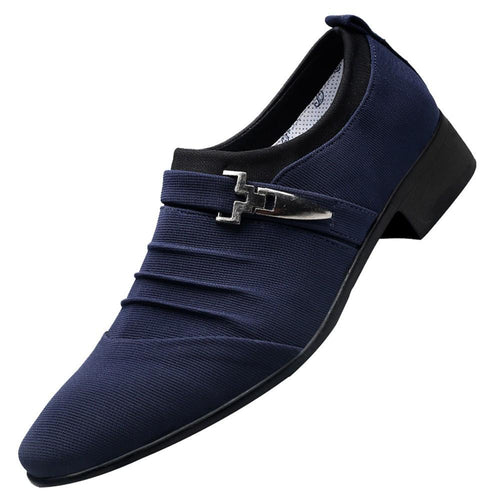 VL MENS CASUAL BUCKLE DETAIL SHOES - VansLovers.com
