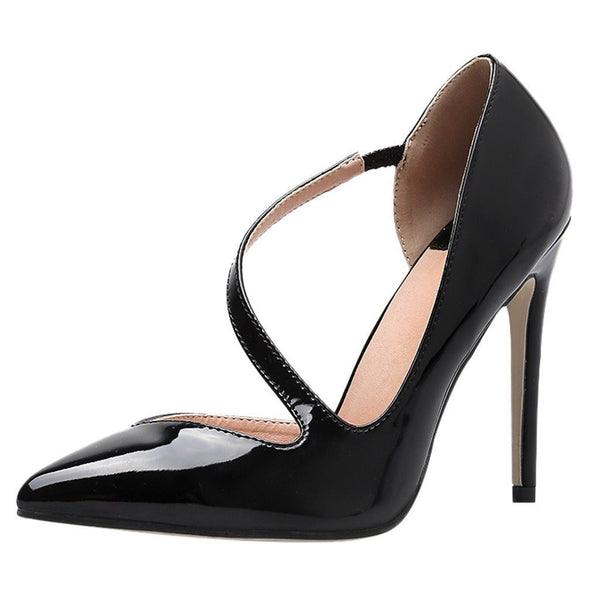 VL WOMENS TWISTED STRAP HIGH HEELS - VansLovers.com