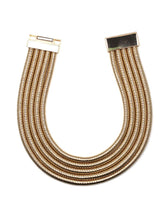 Load image into Gallery viewer, Layers Minimalist Metal Choker Necklace