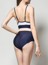 Load image into Gallery viewer, Color Block Plain  One Piece Swimwear